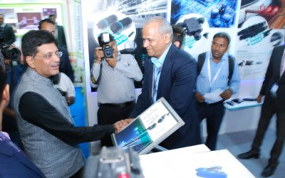 Hon. Union Power Minister Piyush Goyal visits us at Light India 2016