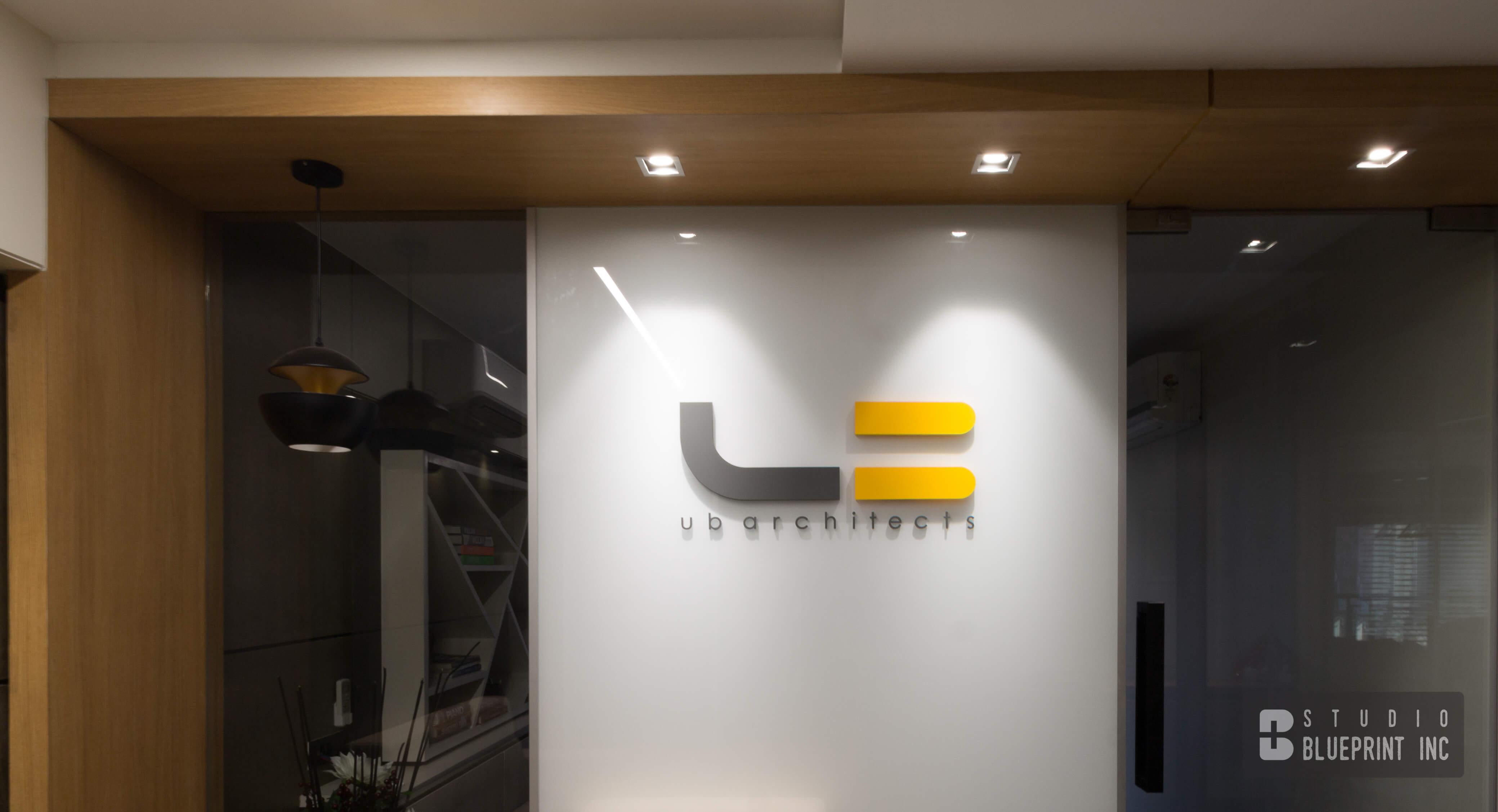 Spot lights to highlight Logo